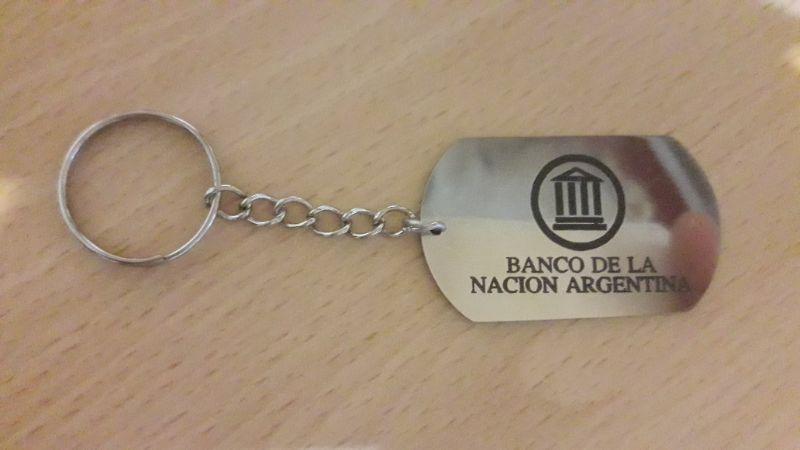 Llavero Banco de la Nación Argentina
