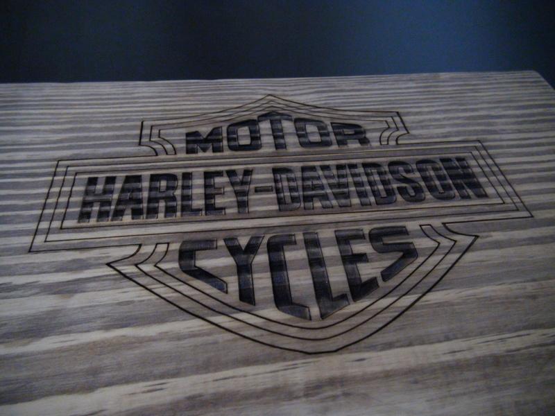 Grabado sobre madera