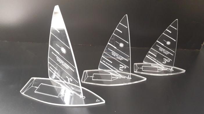 Grabado sobre acrílico cristal - 3 mm