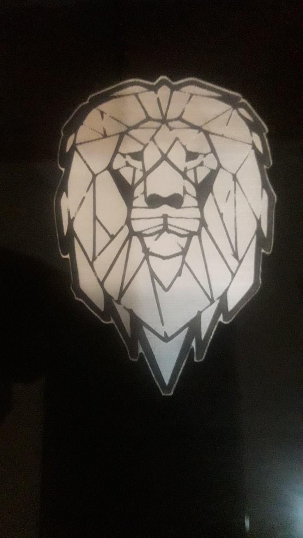 Grabado sobre plastico bicapa - simil plata cepillado