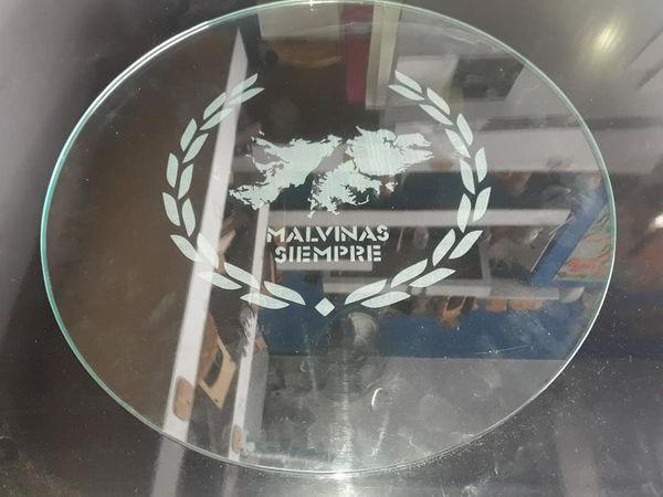 Grabado sobre vidrio - 8 mm